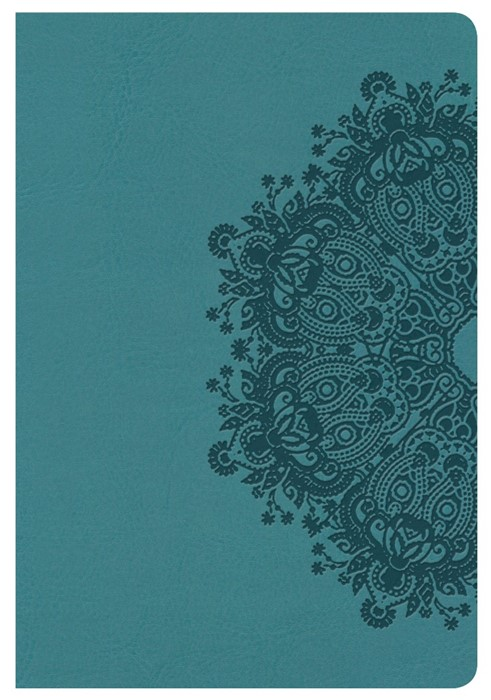 KJV Compact Ultrathin Bible, Teal Leathertouch (Imitation Leather)