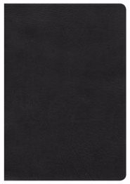 NKJV Giant Print Reference Bible, Black Leathertouch (Imitation Leather)