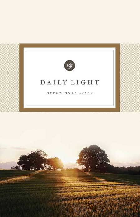 ESV Daily Light Devotional Bible (Hard Cover)