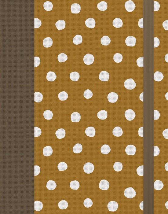 ESV Single Column Journaling Bible, Polka Dot (Hard Cover)