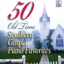50 Old Time Southern Gospel Piano Favourites 3CD (CD- Audio)