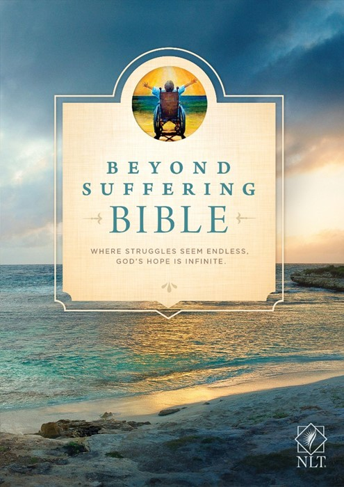NLT Beyond Suffering Bible (Hard Cover)