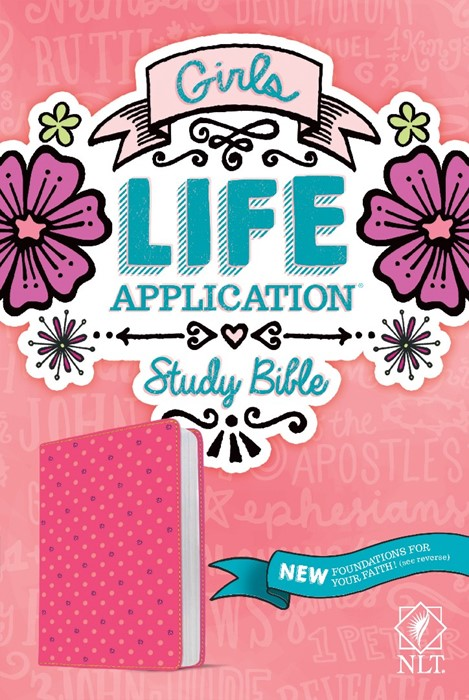 NLT Girls Life Application Study Bible (Imitation Leather)