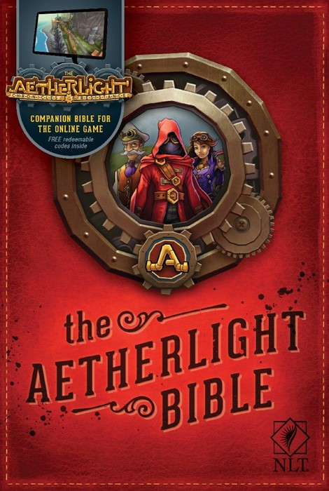 The NLT Aetherlight Bible (Paperback)