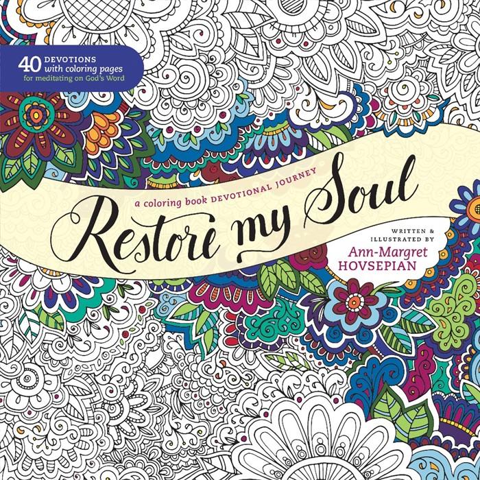 Restore My Soul Coloring Book (Paperback)