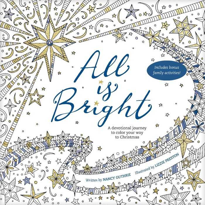 All Is Bright Coloring Book (Paper Back)