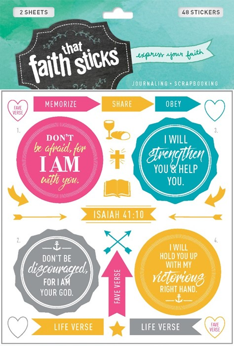 Isaiah 41:10 (Stickers)
