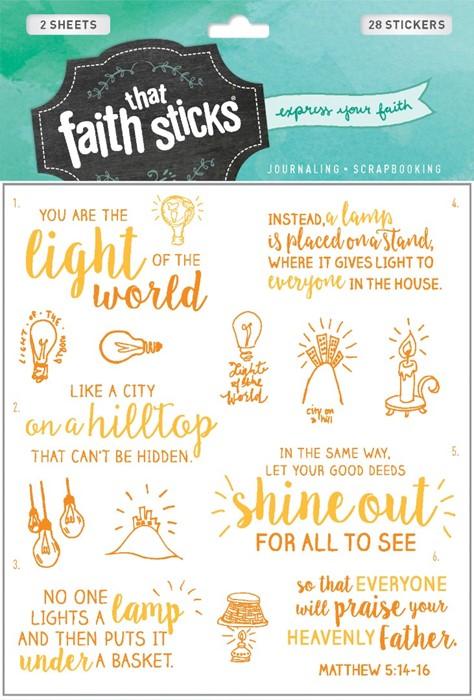 Matthew 5:14-16 (Stickers)