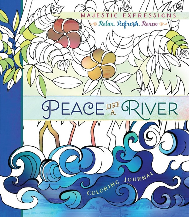 Peace Like A River Colouring Journal