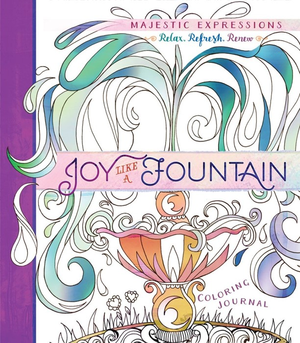 Joy Like A Fountain: Colouring Journal (Paperback)