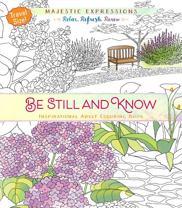 Be Still And Know (Travel Size): Colouring Book (Paperback)