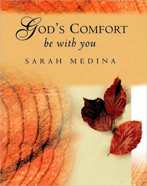 God's Comfort Be With You (Hard Cover)