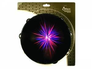Starburst Tambourine Purple 10
