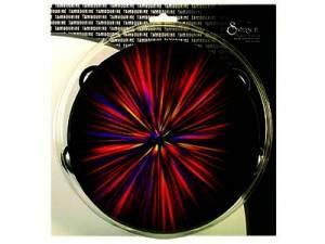 Starburst Tambourine Red 8