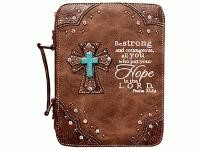 Fashion Bible Cover Hope Brown (General Merchandise)