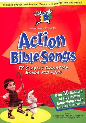 Kids Classics: Action Bible Songs DVD (DVD Audio)