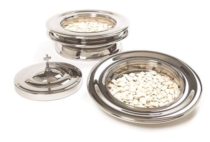 Silver Stacking Bread Plate (General Merchandise)