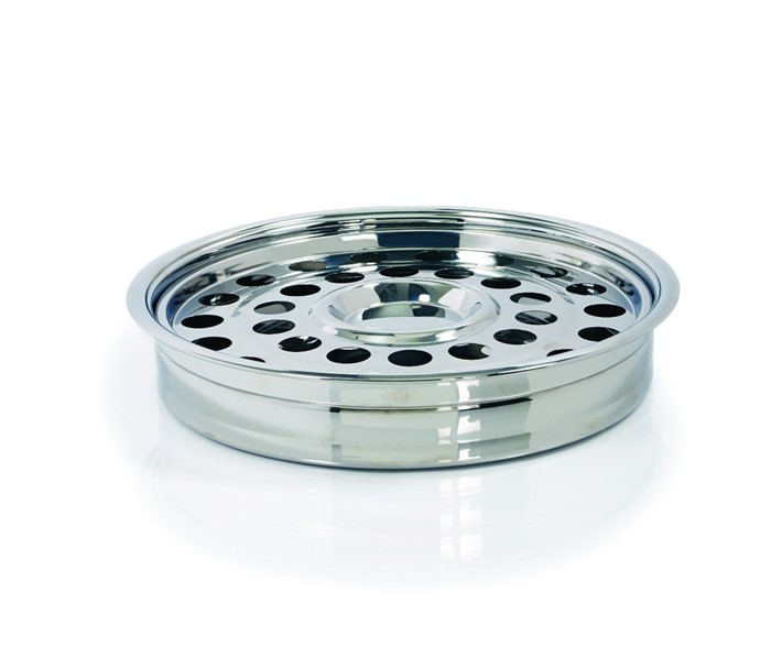 Silver One-Pass Communion Tray and Disc (General Merchandise)