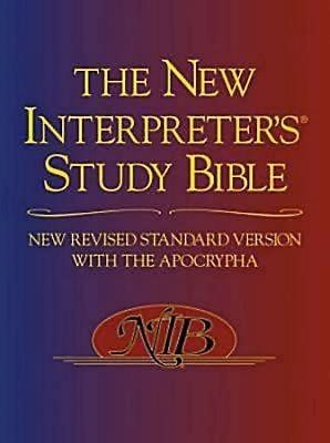 The NRSV New Interpreter's Study Bible (Hard Cover)