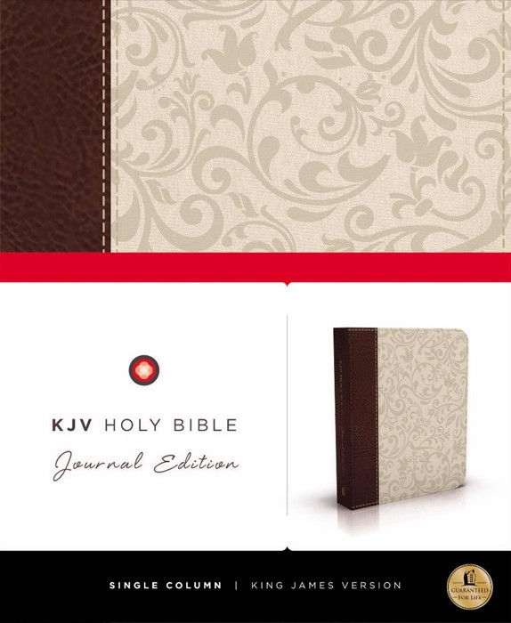 KJV Journal Edition, Imitation Leather, Brown/Cream (Imitation Leather)