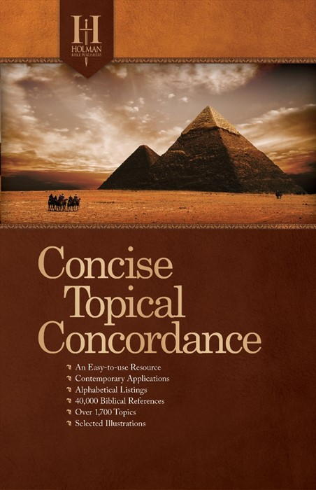 Holman Concise Topical Concordance (Paperback)