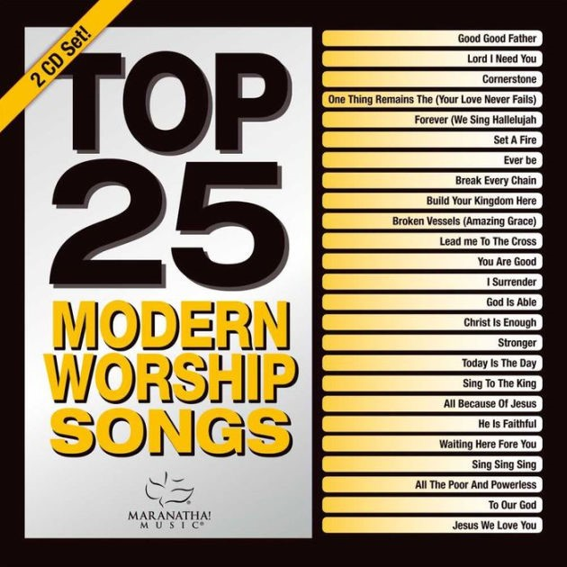 Top 25 Modern Worship Songs 2016 2CD (CD- Audio)