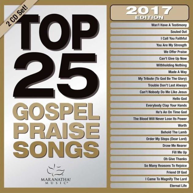 Top 25 Gospel Praise Songs 2017 2CD (CD- Audio)