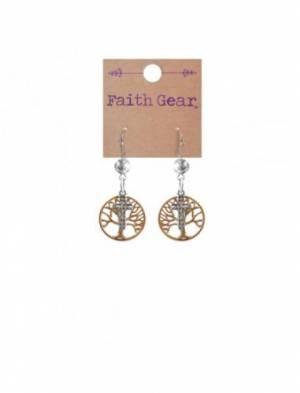 Faith Gear Women's Earrings - Tree of Life