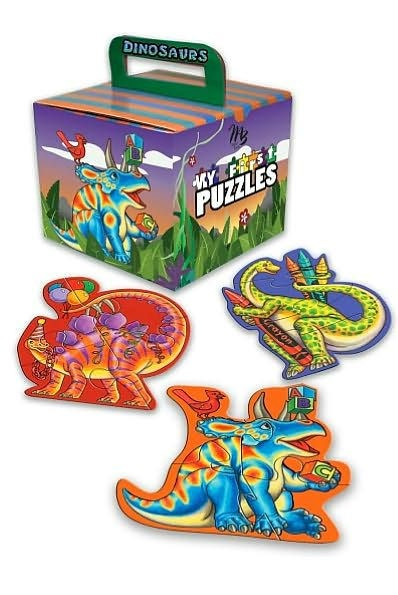 My First Puzzles: Dinosaurs (Paperback)
