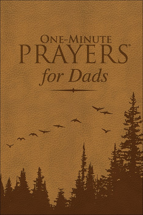 One-Minute Prayers For Dads (Leather Binding)