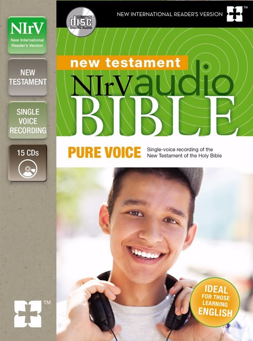 NIrV Audio CD Bible New Testament Pure Voice (CD-Audio)