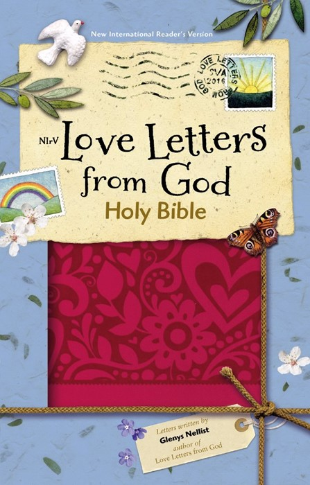 NIRV Love Letters from God Holy Bible, Magenta (Imitation Leather)