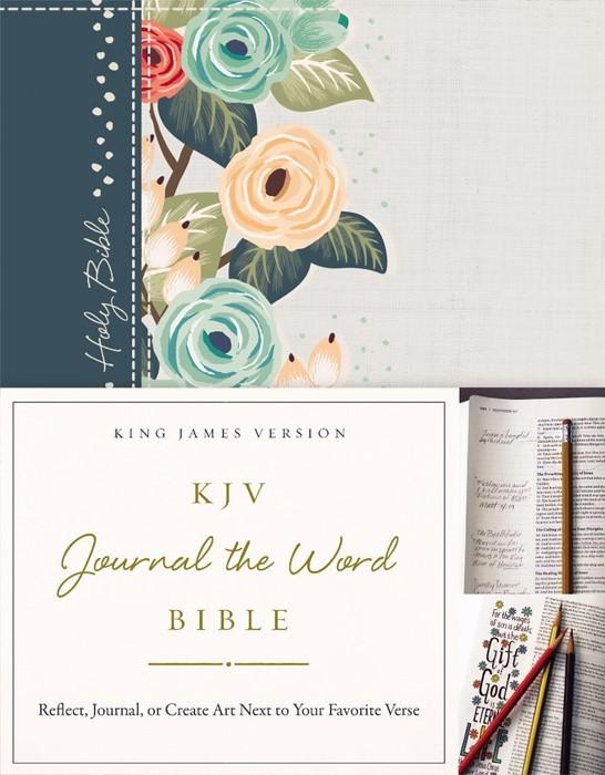 KJV Journal the Word Bible HB (Hard Cover)