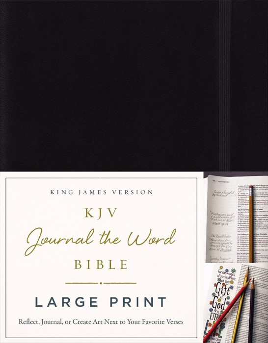 KJV Journal the Word Bible Large Print (Hard Cover)