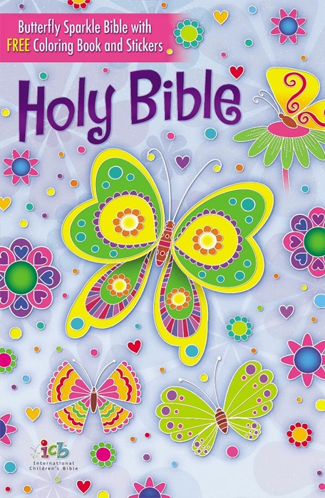 The ICB Butterfly Sparkle Bible (Cloth-Bound)
