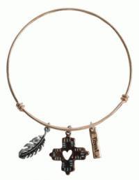 Faith Gear Women's Bracelet - Feathers (General Merchandise)
