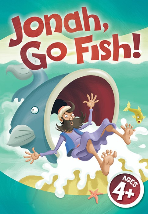 Jonah Go Fish Jumbo Card Game (Game)