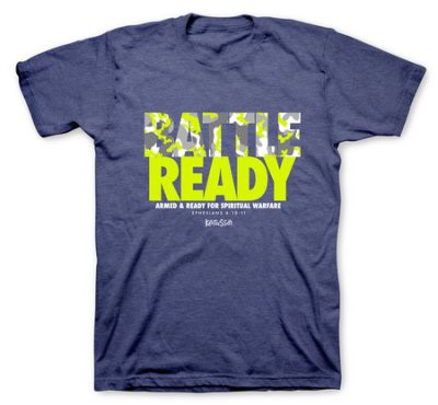 T-Shirt Battle Ready Adult Medium