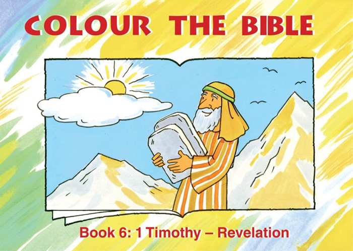 Colour The Bible Book 6: 1 Timothy - Revelation (Paperback)