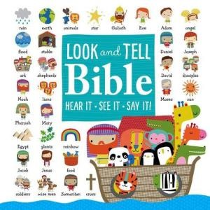The Look and Tell Bible (Board Book)