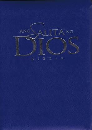 Tagalog Shirt Pocket New Testament Blue (Soft Cover)