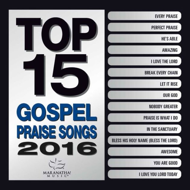 Top 15 Gospel Praise Songs 2016 (CD-Audio)