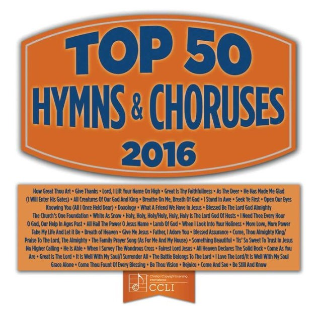 Top 50 Hymns and Choruses 2016 2CD (CD-Audio)
