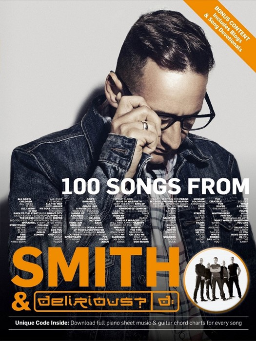 100 Songs of Martin Smith & Delirious? Songbook (Paperback)