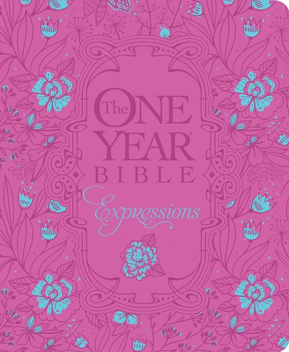NLT One Year Bible Expressions, The - HB Leatherlike (Imitation Leather)
