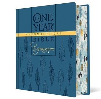 The NLT One Year Chronological Bible Expressions (Hard Cover)