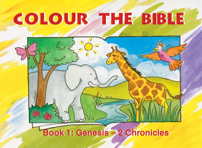 Colour The Bible Book 1: Genesis - 2 Chronicles (Paperback)