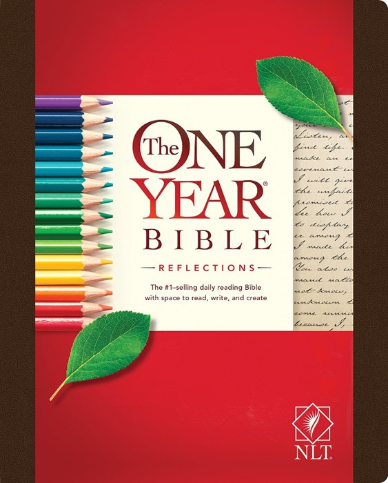 NLT One Year Bible Reflections (Hard Cover)