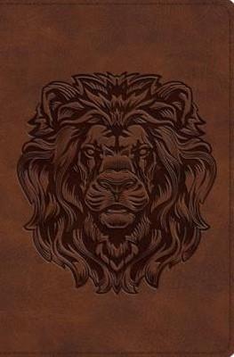ESV Compact Bible Trutone, Royal Lion (Imitation Leather)