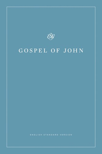 ESV Gospel Of John (Paperback, White Design) (Paperback)